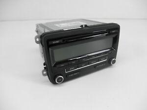 Original-VW-Volkswagen-Autoradio-5N0035164-US-USA-CD-AM-FM-Satellite-Sirius-SAT