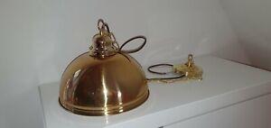 Pendelleuchte in Gold Industrie Hängelampe Retro Hängeleuchte Vintage NEU/&OVP
