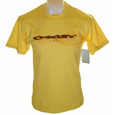 BNWT AUTHENTIC MENS OAKLEY LINED T SHIRT NEW SMALL
