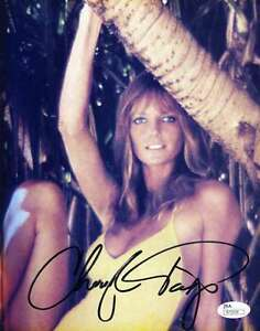 CHERYL-TIEGS-JSA-COA-HAND-SIGNED-8X10-PHOTO-AUTHENTICATED-AUTOGRAPH