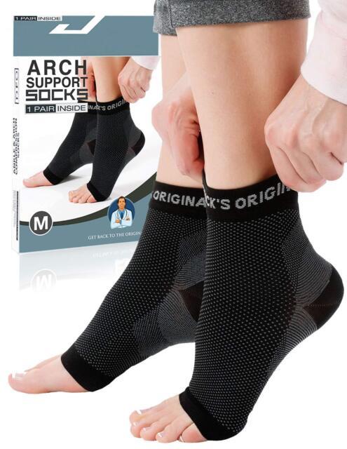 85ac78e0c5 Foot Plantar Fasciitis Compression Socks Ankle Sleeve Pain Heel ...