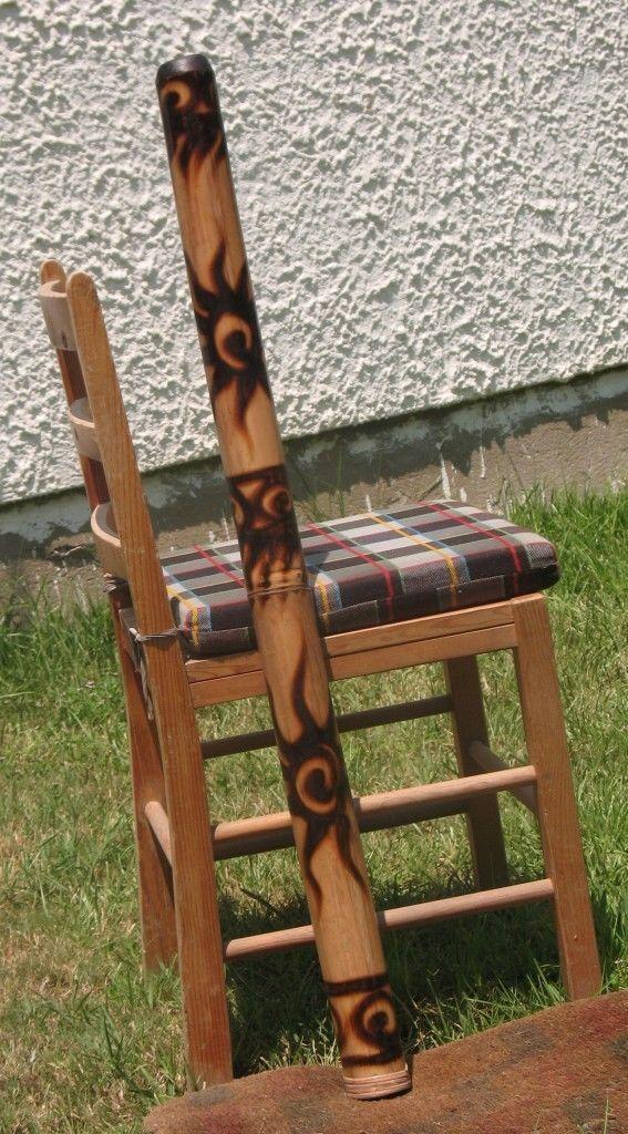 39  \ 100cm Bambou Didgeridoo + Sac + Beeswax-Mouthpiece Aborigène Rôti & Burns