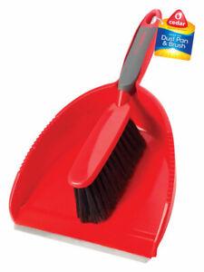 O-Cedar-Plastic-Snap-On-Broom-amp-Dust-Pan-Set