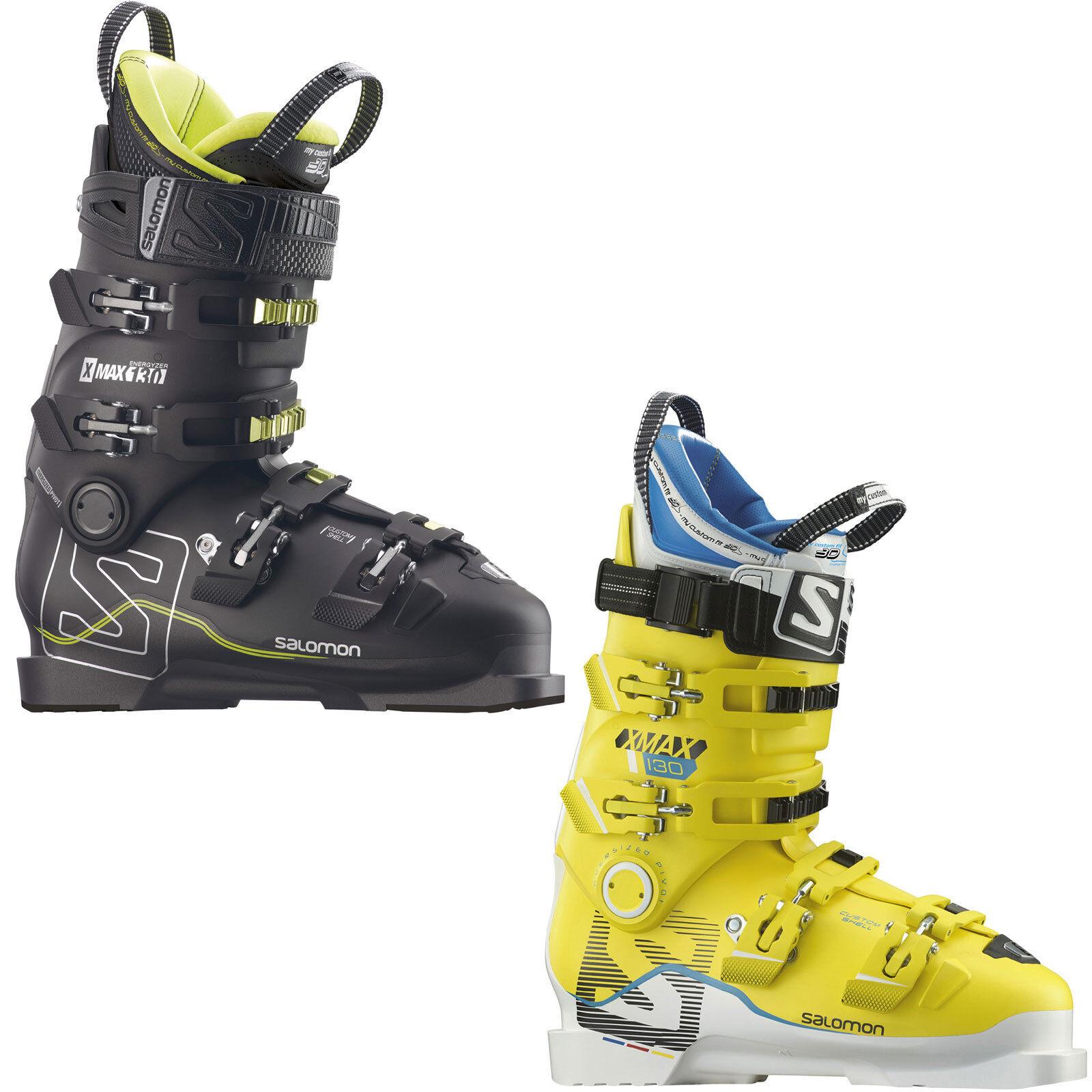 Salomon X Max 130 Herren Skischuh SkiStiefel Skistiefel All Mountain Piste NEU