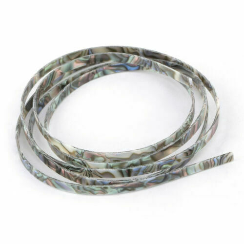10pcs Colorful Celluloid 5mm Width Acoustic Classic Guitar Binding Purfling