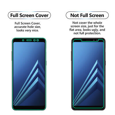 100% QualitäT 2x Full Screen Face Curved Tpu Screen Protector Cover For Samsung Galaxy A8 2018 2019 Offiziell