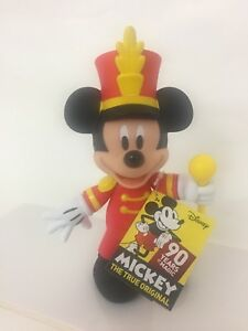 Mickey Mouse Mouseketeer Posable Figure 90 Years of Magic The True Original