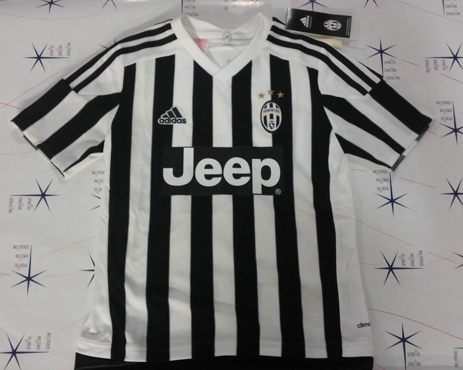 59112b27e Adidas Juventus t-shirt maglia ufficiale juve bianco bianco bianco - black  2015 - 2016 AA0336 154738
