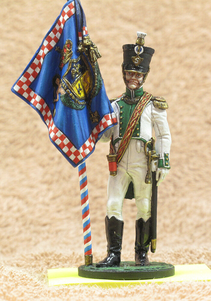 Tin  Standard-bearer of the 5th linear regiment Real Calabria. Naples, 1811-12
