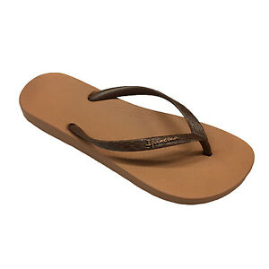 IPANEMA flip-flops woman in rubber ANATOMIC TAN FEM MADE in BRAZIL