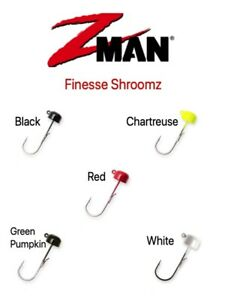 Z-Man Finesse ShroomZ Ned Rig Jigheads Red