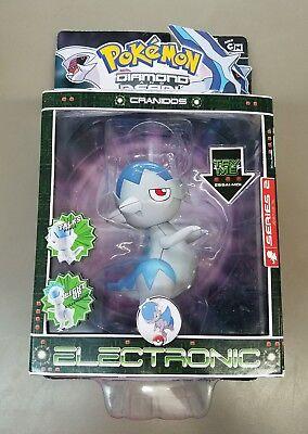 13 cm Cranidos Figur ca Diamond /& Pearl-Deluxe Electronic Pokemon
