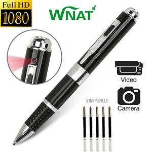 Image Is Loading Full HD 1080P DVR Hidden Spy Camera Pen