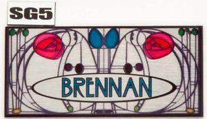 Door-nameplate-Number-Rennie-Macintosh-House-Sign-Plaque