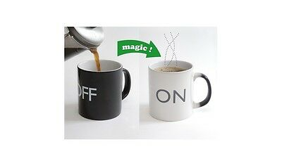 1x ON/OFF Mug ideal for coffee, tea,water  and hot chocolate i