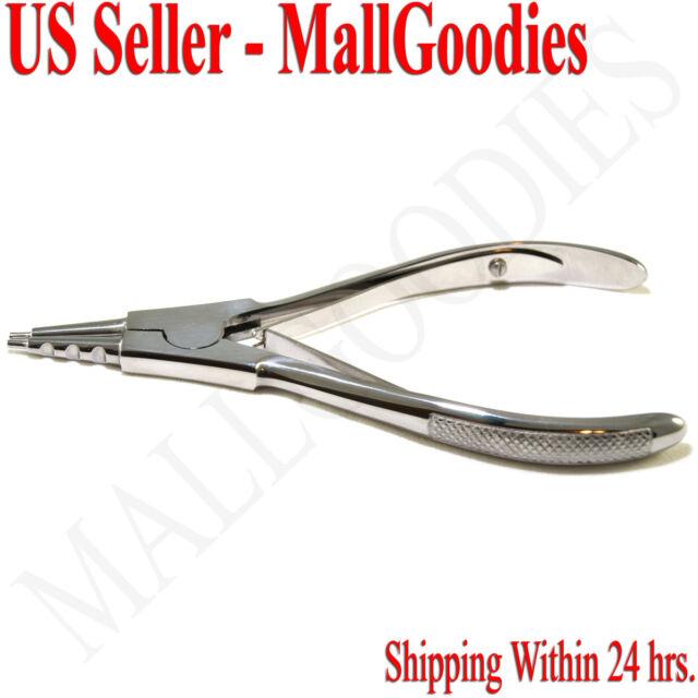 T075 Ring Opener Piercing Tool Hoops Heavy Big Gauge Captive Bead Opening Pliers