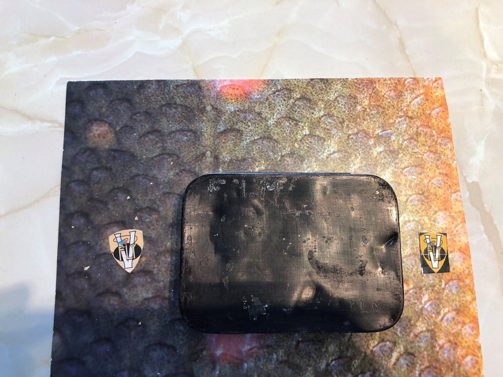 RARE VINTAGE J BERNARD & Son London trossoa Dry Fly Box con periodo secco MOSCHE