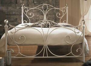 Edwardian II Bed Frame With Antique Bronze Black Super King
