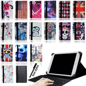 Leather-Stand-Cover-Case-Bluetooth-Keyboard-For-CELLO-7-034-10-1-034-INCH-TABLET