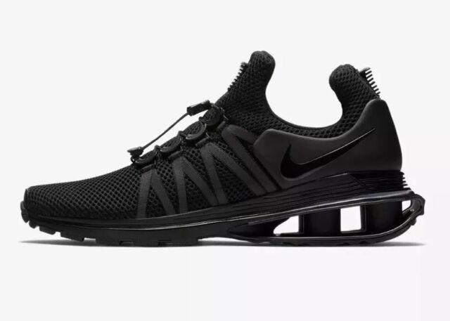 04b99b6c82b  150 Nike Shox Gravity Men s Size 9 Training Shoes Triple Black AR1999-001  NEW