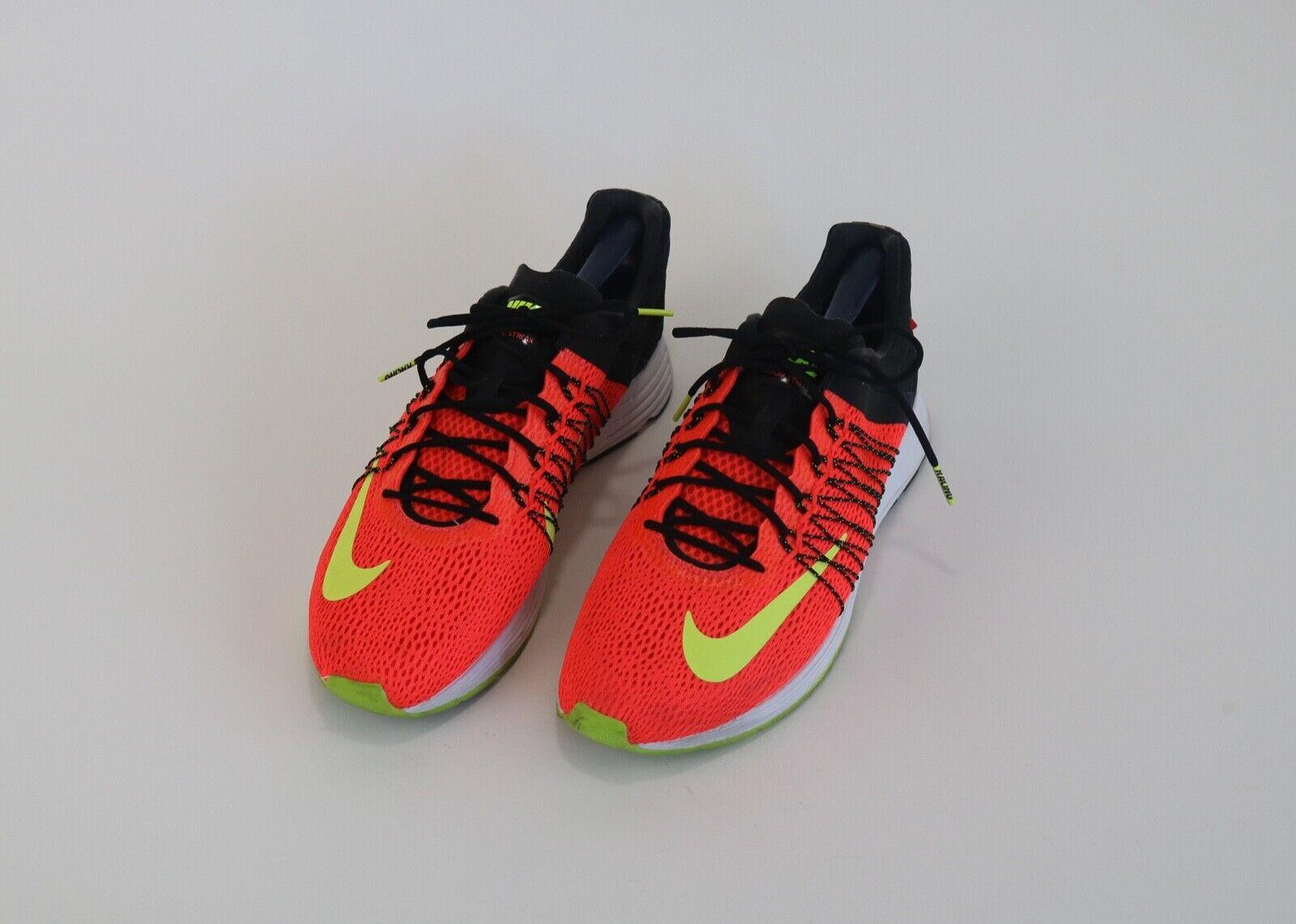 NIKE Zoom Streak orange Black Running shoes Sneakers Size 10.5 Racing