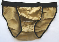 1 Men 100% Silk String Bikini Briefs Waist Waist 30 32 Multi Colors Us Seller