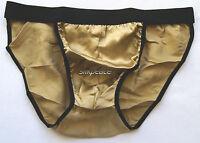 1 Men 100% Silk String Bikini Briefs Waist Waist 30 32 Multi Colors Us Seller