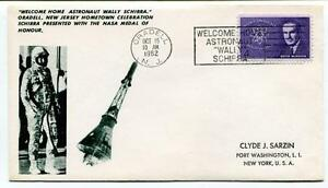1962 Welcome Home Astronaut Wally Schirra Oradell New Jersey Celebration Oradell Performance Fiable