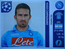 Panini 59 Hugo Campagnaro SSC Napoli UEFA CL 2011/12