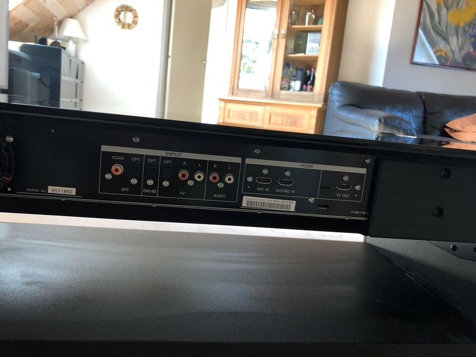 Tv-/lydbord, Sony, God