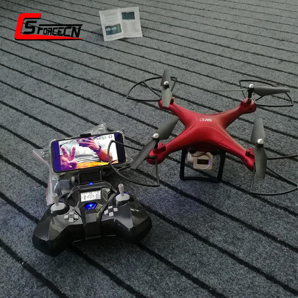 SMRC S10 2.4G Camera FPV WIFI Quadcopter Drone UAV APP Remote Control Helicopter