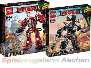 LEGO NINJAGO THE MOVIE™ Ultimatives Mech Set 70615 + 70613 N8/17