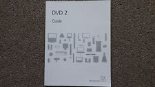 Bang & Olufsen   B&O DVD 2 User Guide.                 L