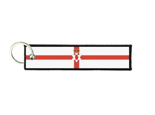 Schlüsselanhänger auto moto anhänger flagge fahne flaggen nordirland