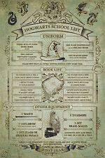 Maxi poster Harry Potter 61x91,5 Baguettes