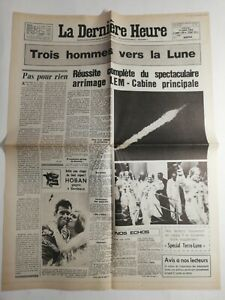 N198-La-Une-Du-Journal-la-derniere-heure-17-juillet-1969-Apollo-11