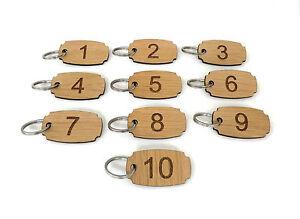 Sets-of-numbered-wood-key-tags-fobs-laser-engraved-hotel-key-ring-keyring-oak