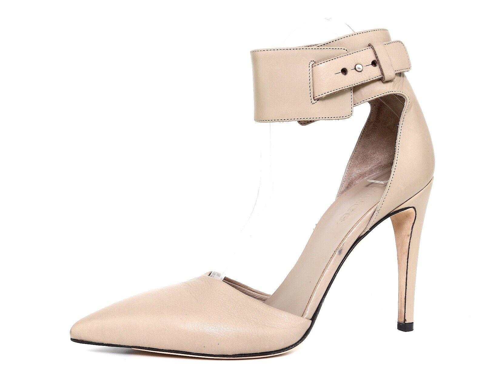 scelta migliore Vince Ada Ada Ada Ankle Strap Leather Pump Beige donna Sz 8 M 1314  il più recente