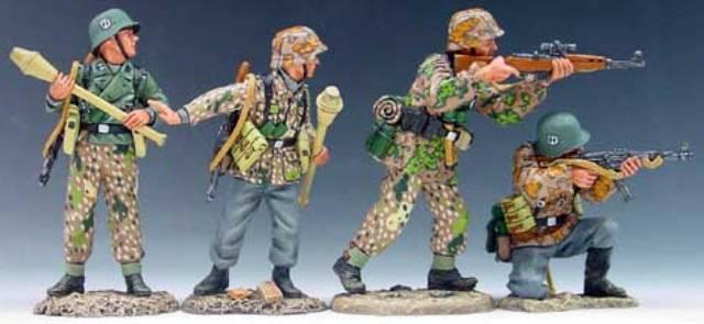 KING & COUNTRY WW2 GERMAN ARMY WS049 PREPARE TO AMBUSH MIB