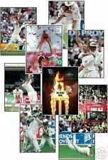England 2005 Ashes Cricket Winners 13 Trading Card Set FREE UK POSTAGE