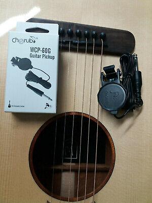 Gitarren Clip Tonabnehmer Pickup für Akustik Klassik Western Gitarre mehr NEU