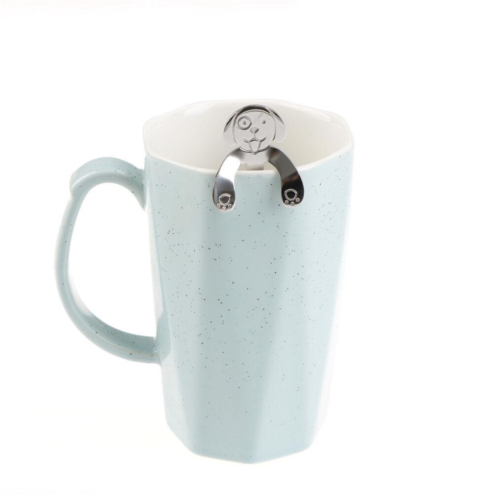 stainless steel dog coffee spoon food grade ice spoon kitchen supplies ESNIUS