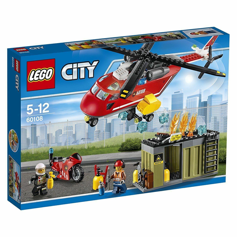 Lego City 60108 Feuerwehr-Löscheinheit - Nuevo Emb.orig