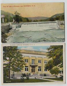 1910-amp-1942-Suffern-New-York-Postcards