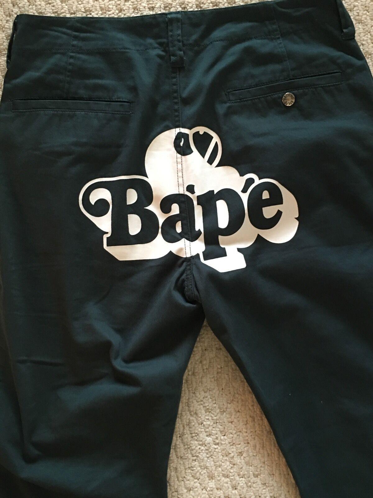 A Bathing Ape Pants Bape