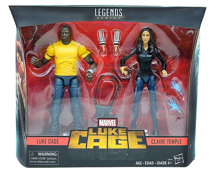 (IN-HAND) Hasbro Marvel Legends 10th 6  Luke  Cage & Claire Temple 2PK nouveau  profitez de 50% de réduction