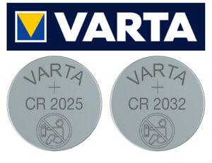 VARTA CR2025 CR2032 6032 Batterien Knopfzellen -->Neueste Herstellung aus 2021