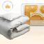 Canadian-Down-amp-Feather-Co-All-Season-White-Goose-Feather-Duvet-100-Cotton miniature 1