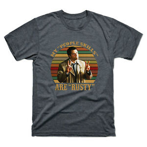 Castiel-Supernatural-My-People-Skills-Are-Rusty-Vintage-Men-039-s-Tee-Cotton-T-Shirt