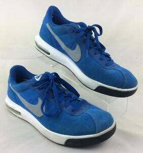 NIKE AIR Bruin Max Italy SI Royal Blue Suede Mens Sz 10 Athletic Casual Shoes